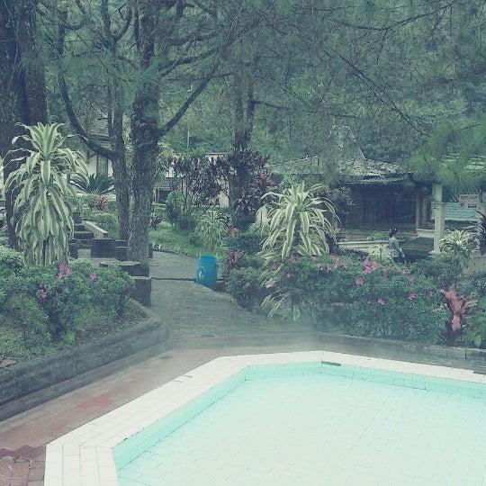 Photo taken at Pemandian Air Panas - Hotel Duta Wisata Guci by Rhesty F. on 2/27/2013