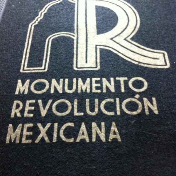 Das Foto wurde bei Mirador Monumento a la Revolución Mexicana von Mauricio T. am 7/7/2013 aufgenommen