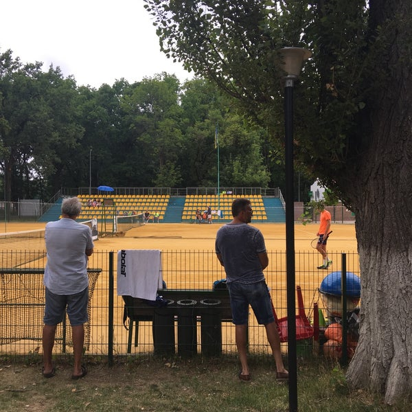 Photo taken at Central Park Tennis Club by Kseniya K. on 7/23/2017