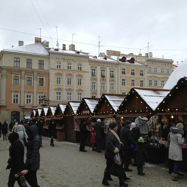 Снимок сделан в Площадь Рынок пользователем Igor 1/8/2013