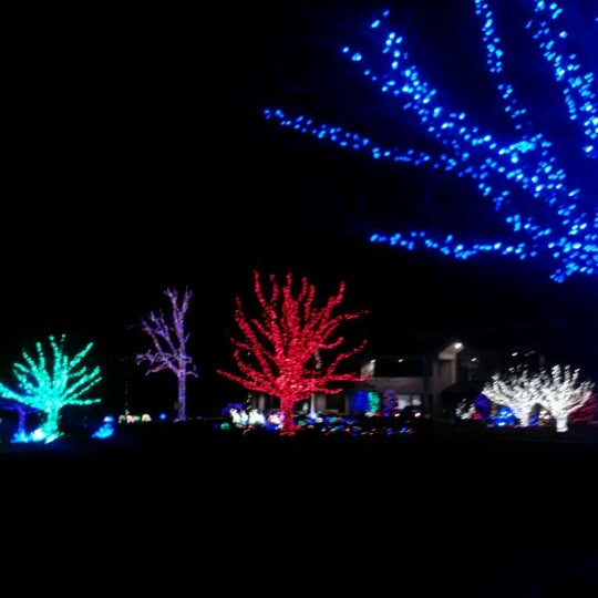 photo taken at herrs christmas light show by brittany t on