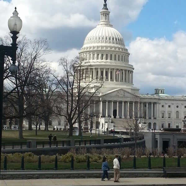 Photo taken at United States Capitol by Kathryn F. on 3/26/2013