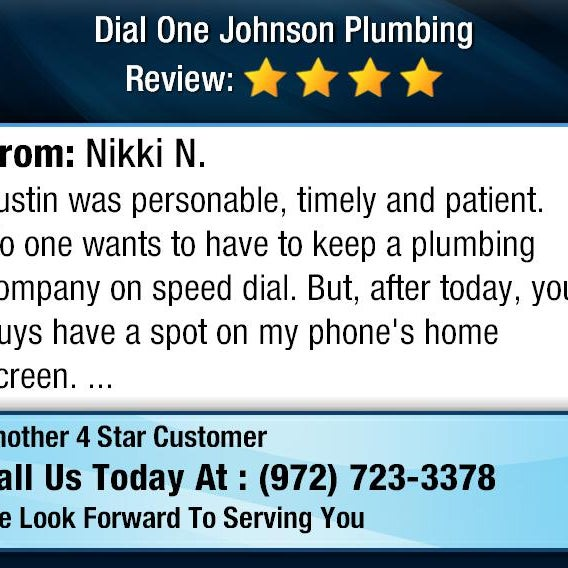Photo Taken At Dial One Johnson Plumbing By Michelle J On 11 29