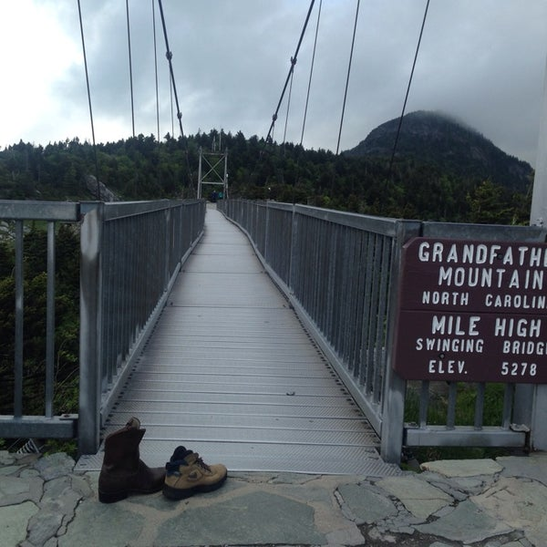 Photo taken at Grandfather Mountain by Steve B. on 6/5/2014
