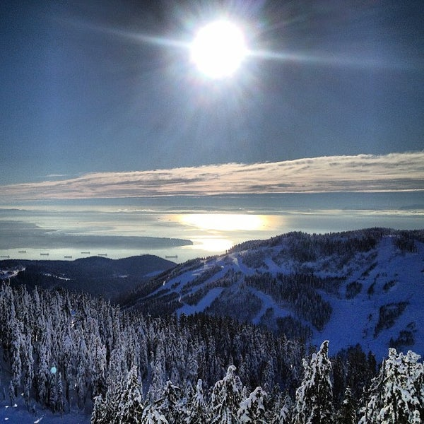 Photo taken at Cypress Mountain Ski Area by Rob B. on 1/3/2013