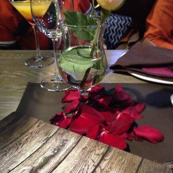 Снимок сделан в ресторан ORDA пользователем Inna C. 2/14/2014