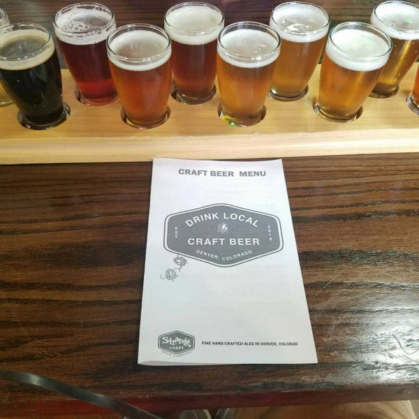 Photo taken at Strange Craft Beer Company by John R. on 7/6/2017