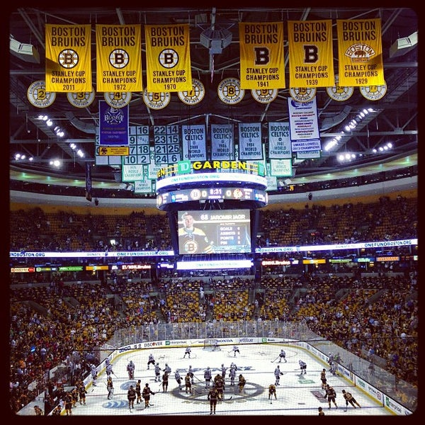 Hockey Arena In Downtown Boston