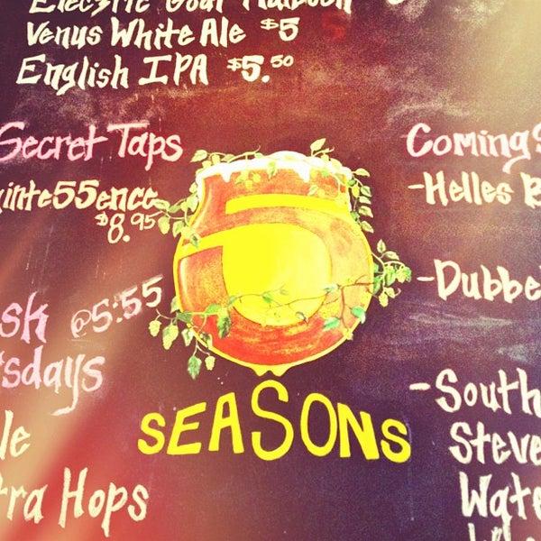 Photo taken at 5 Seasons Brewing by Blake on 6/8/2013