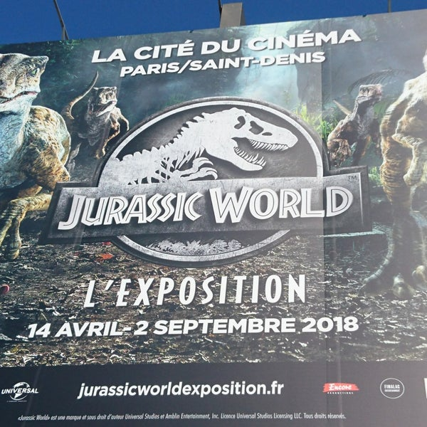 Das Foto wurde bei Cité du Cinéma von GARY am 5/19/2018 aufgenommen