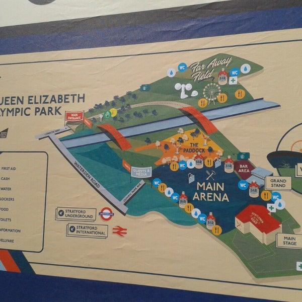 7/6/2013 tarihinde the b.ziyaretçi tarafından Queen Elizabeth Olympic Park'de çekilen fotoğraf