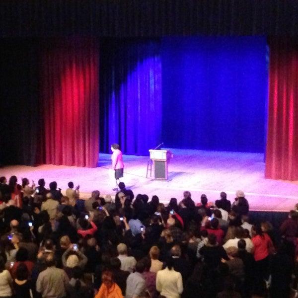 Photo taken at Lisner Auditorium by Mitchell G. on 1/19/2013
