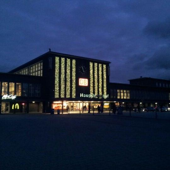 Photo taken at Duisburg Hauptbahnhof by Oxana L. on 11/29/2012