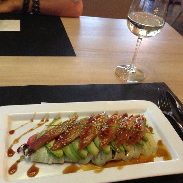 Снимок сделан в Ресторан ODESSA пользователем Надя Г. 7/11/2013