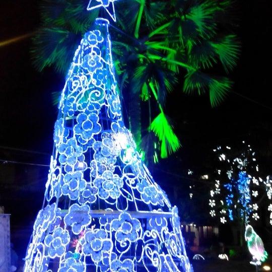 Photo taken at Parque Las Palmas by Alejandro B. on 1/7/2014