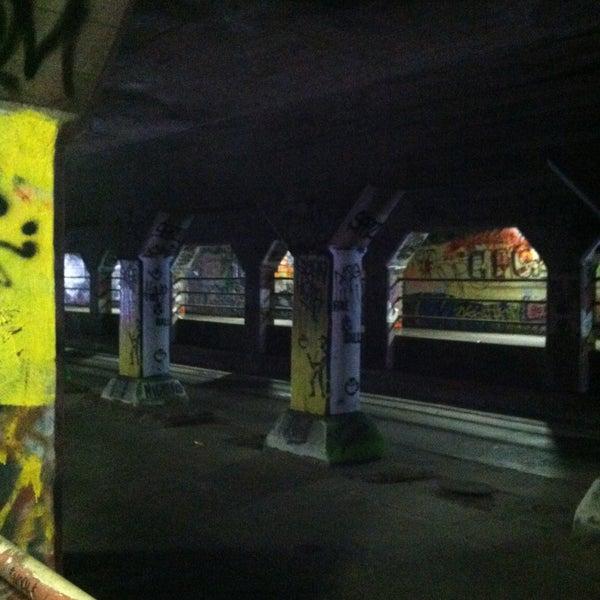 Photo taken at Krog Street Tunnel by Jamie S. on 5/12/2013