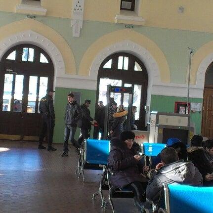 Photo taken at Железнодорожный вокзал Владивостока / Vladivostok Railway Station by Анюта on 11/29/2012