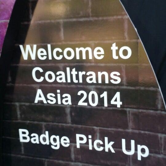 Photo taken at Bali International Convention Centre (BICC) by Eunkyung H. on 6/2/2014