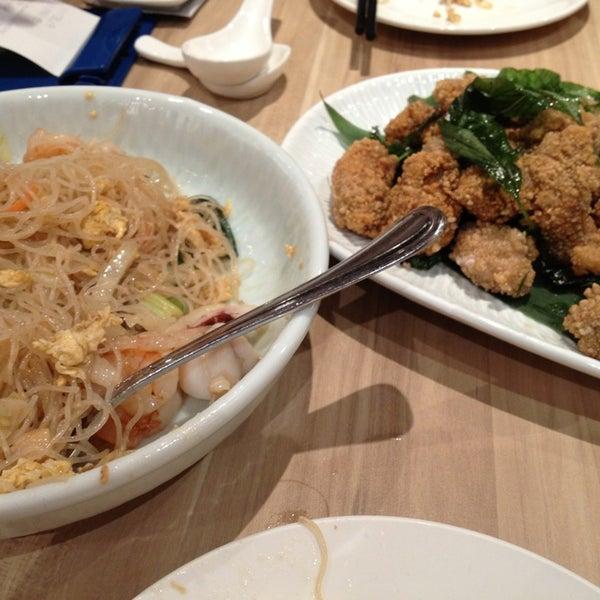 Photo taken at XiMenDing (西门町) Taiwan Cuisine by Sean R. on 1/18/2013