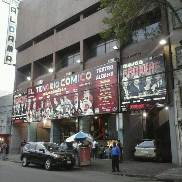 Foto tirada no(a) Teatro Aldama por Enrique S. em 5/25/2013