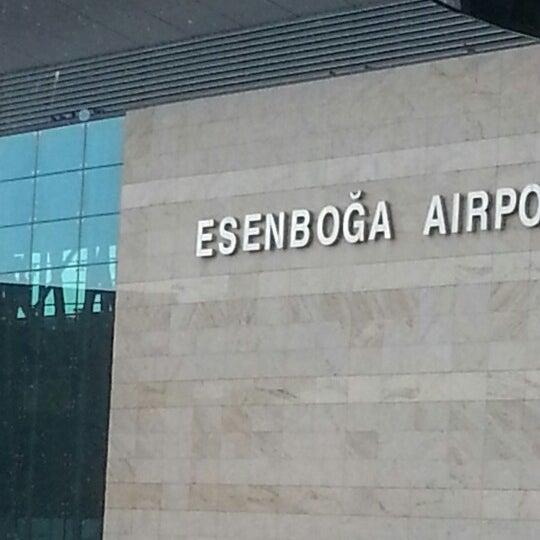 Photo taken at Ankara Esenboğa Airport (ESB) by Memduh A. on 7/27/2013