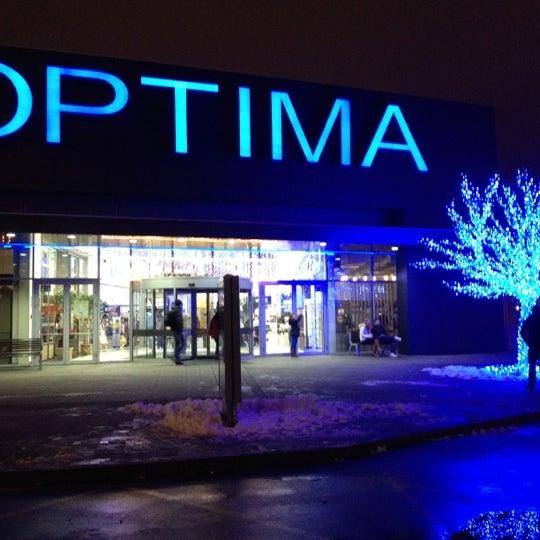 Photo taken at Atrium Optima by Lukáš M. on 12/5/2012