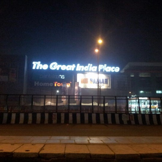 Photo Taken At The Great India Place Mall TGIP By Ash W On