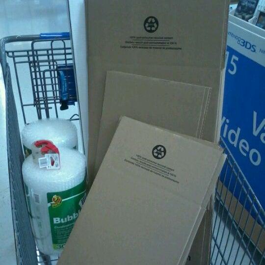 Photo taken at Walmart Supercenter by Ross V. on 10/14/2012