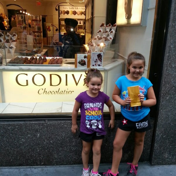 Photo taken at Godiva Chocolatier by Brian M. on 8/31/2013