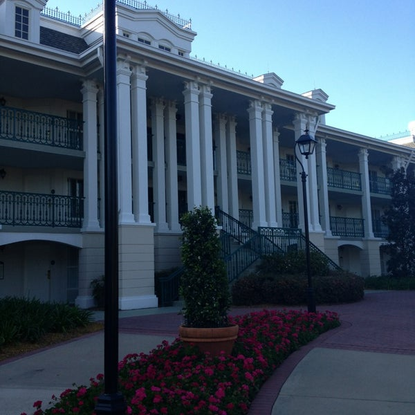 Photo taken at Disney's Port Orleans Riverside Resort by Kristen B. on 3/19/2013