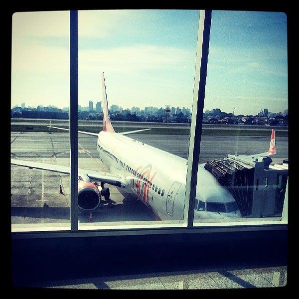 Снимок сделан в Международный аэропорт Конгоньяс/Сан-Паулу (CGH) пользователем Marco A M P. 7/12/2013