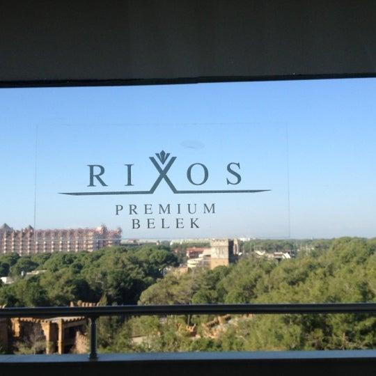 1/15/2013 tarihinde Grav Draculaziyaretçi tarafından Rixos Premium Belek'de çekilen fotoğraf