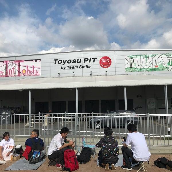 9/23/2018にるなちょむがチームスマイル・豊洲PITで撮った写真