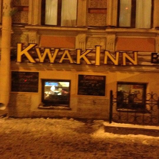 Снимок сделан в KwakInn пользователем Егор У. 12/2/2012