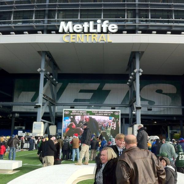 Photo taken at MetLife Stadium by Carlos N. on 12/23/2012