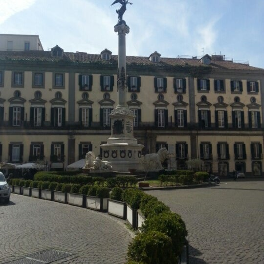 Photo taken at Piazza dei Martiri by Giuseppe A. on 3/20/2013