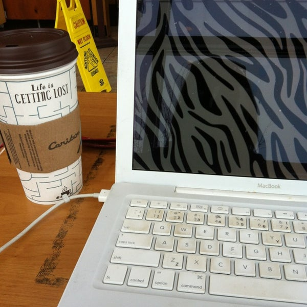 Photo taken at Caribou Coffee by Lauren W. on 2/4/2013