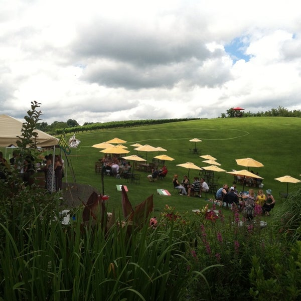 Photo taken at Three Fox Vineyards by Steve B. on 7/13/2013