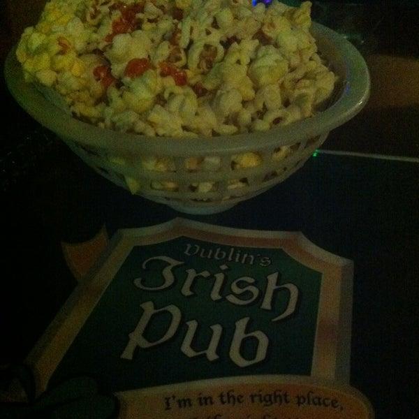 Photo taken at Dublin's Irish Pub by Jareht R. on 1/13/2013