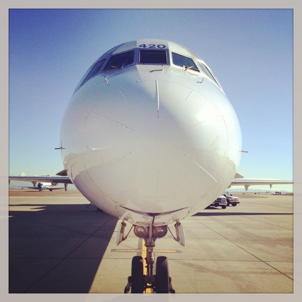 Photo taken at Phoenix-Mesa Gateway Airport (AZA) by Alon S. on 1/29/2013