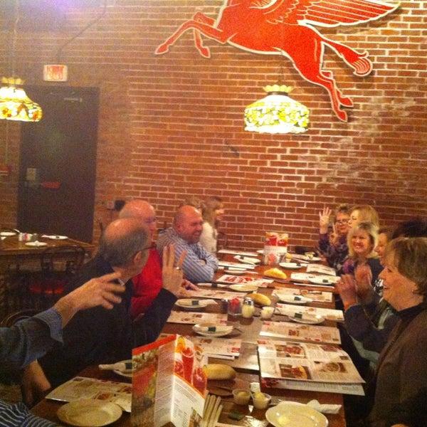 Photo taken at Spaghetti Warehouse by Nabil S. on 12/18/2012