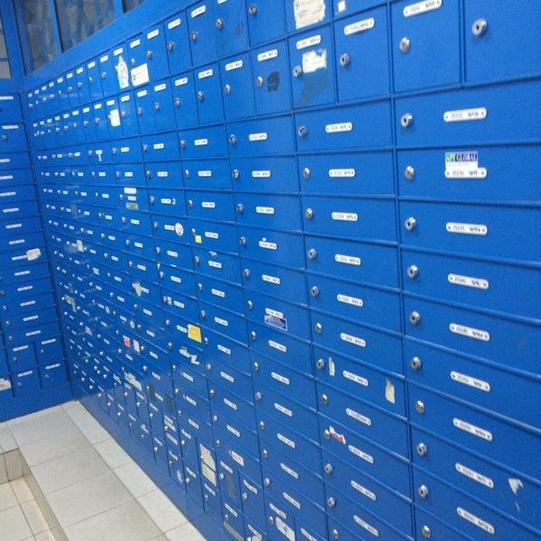 Photo taken at Emirates Post Office مكتب بريد الإمارات by Mohamed H. on 2/16/2014