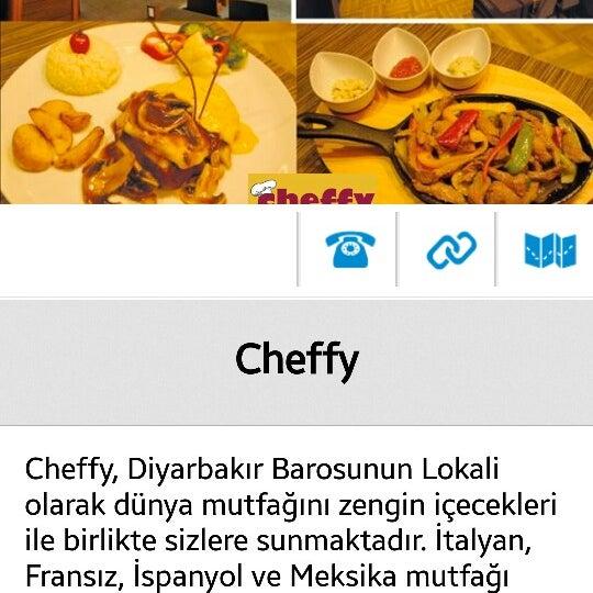 10/2/2013 tarihinde Diyarbakır Baro Lokaliziyaretçi tarafından Cheffy Dünya Mutfağı'de çekilen fotoğraf
