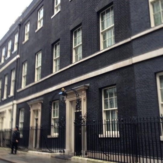 Photo taken at 10 Downing Street by Liz B. on 10/31/2012