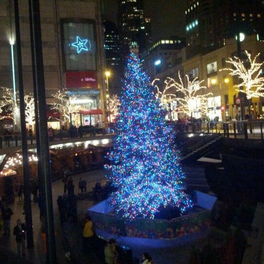 Photo taken at 900 North Michigan Shops by Shehan Peruma on 12/8/2012