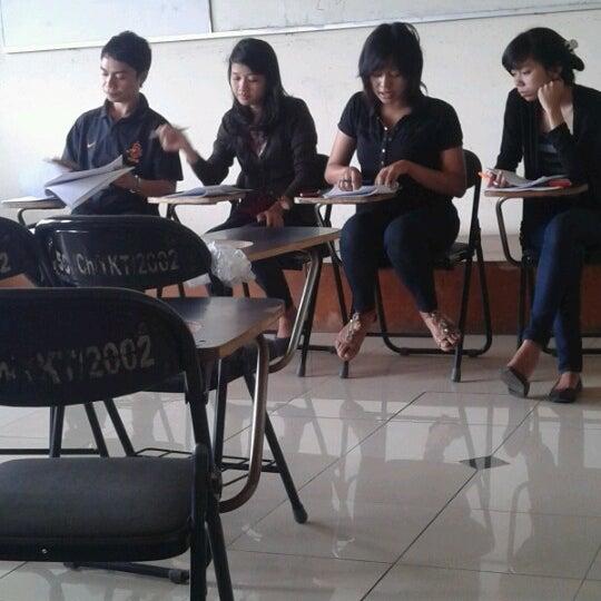 Photo taken at Institut Ilmu Sosial dan Ilmu Politik (IISIP) by Nur'aini U. on 12/5/2012