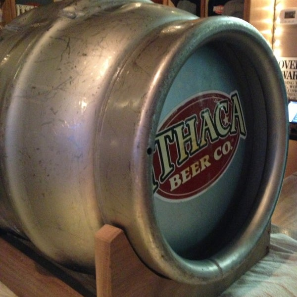 Photo taken at Ithaca Beer Co. Taproom by Dale S. on 2/20/2013
