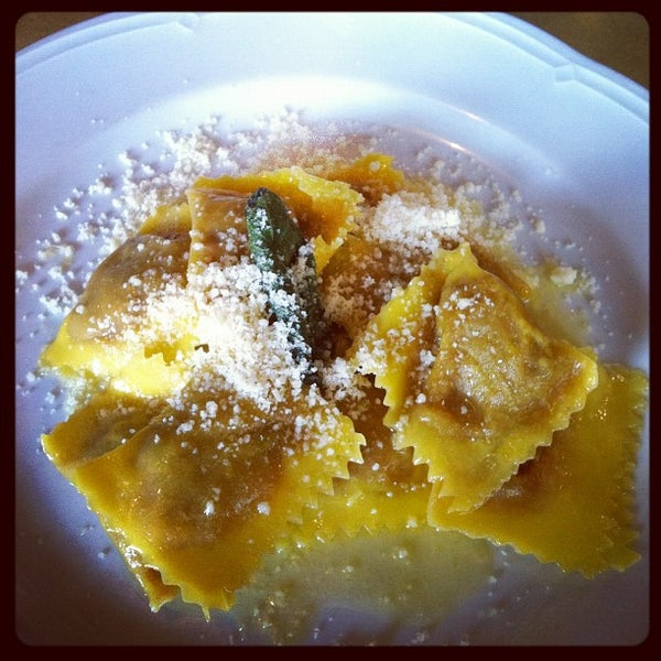 Photo taken at Osteria del Sognatore by Linz S. on 10/23/2012
