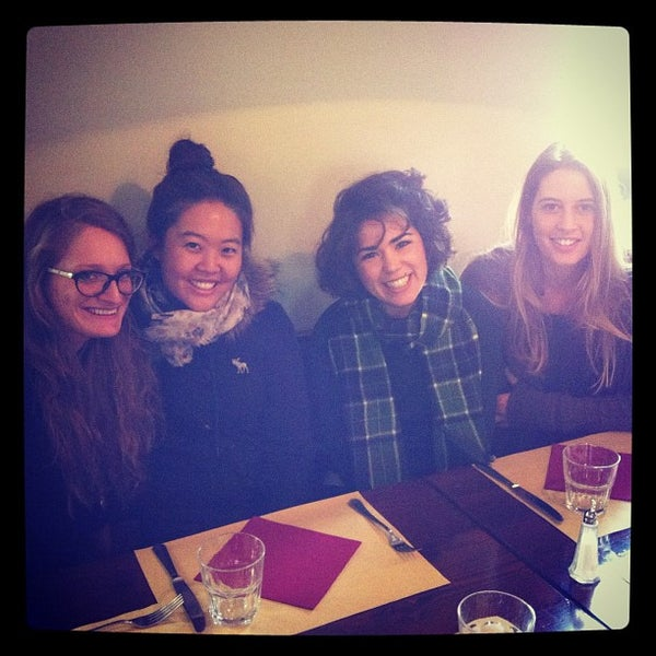 Photo taken at Osteria del Sognatore by Linz S. on 10/25/2012
