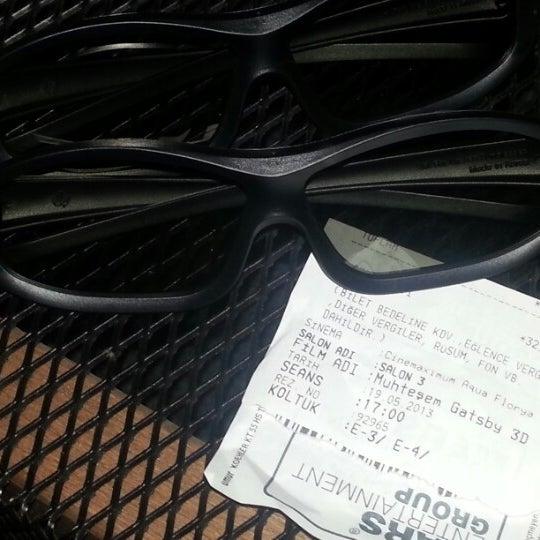5/19/2013 tarihinde Selda M.ziyaretçi tarafından Cinemaximum'de çekilen fotoğraf